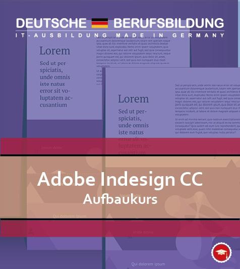 Adobe Indesign CC Aufbaukurs