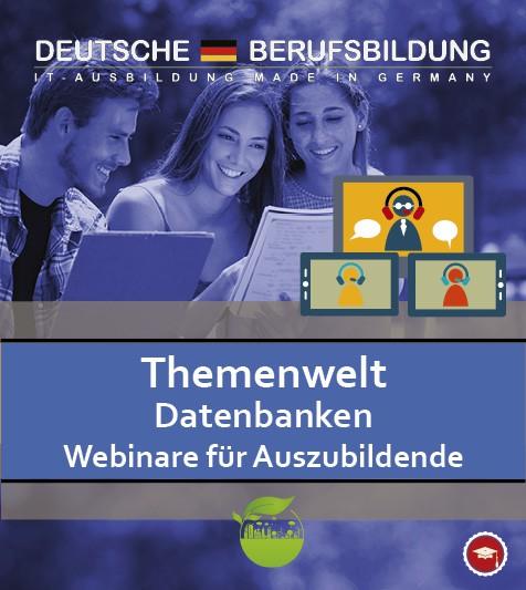 Webinare Thtmenwelt Datenbank für Auszubildende