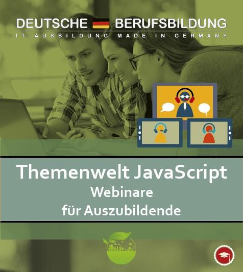 Webinare Themenwelt JavaScript